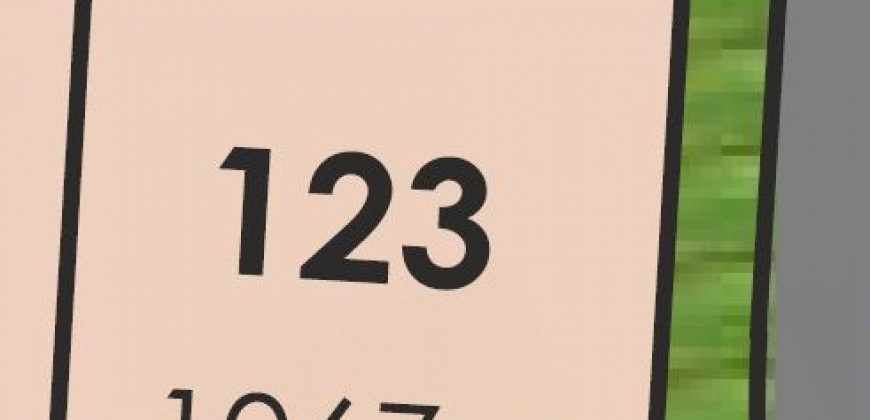 Lot 123 Yorkshire Crescent